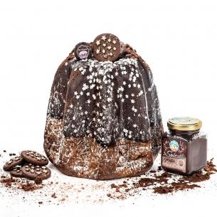 Pandoro stelle di cacao