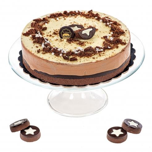 Pan di stelle cake